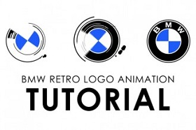Create BMW Retro Logo Animation in After Effects