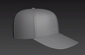 Modeling a Baseball Cap in Autodesk 3Ds Max