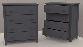 Modelling a Chest Of Drawers in Autodesk 3DS Max