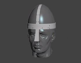 Modeling the Norman Helmet in Autodesk 3ds Max
