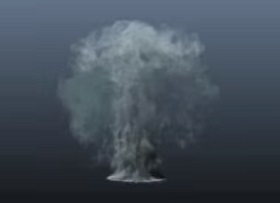 Create Dynamic Fluid Effect (Advanced Smoke) in Maya 3D