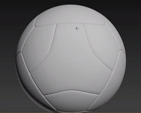 Modeling Soccer Ball Jabulani in 3ds Max