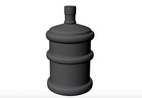 Modeling a Simple Water Jar/Bottle in Autodesk Maya