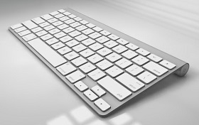 Modelling Apple Keyboard in Maxon Cinema 4D