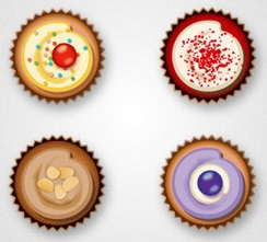 Create Delicious Cupcake Icons in Adobe Illustrator