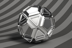 Creating a Simple Metallic Material in Cinema 4D