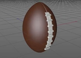 Model a Rugby Ball / American Football in Cinema 4D