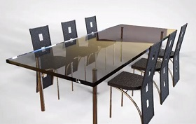 Model a Full Dining Table Set in Maya 2016