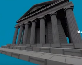 Modeling and Unwrap Zeus Temple in Autodesk 3ds Max