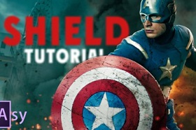 Creating Captain America'S Shield in After Effects
