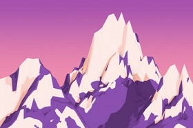 Create Low-Poly Cartoonish Mountains in Cinema 4D