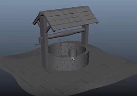 Modeling Water Well 3d in Autodesk Maya