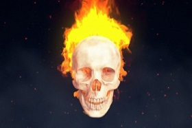 Create a Flaming Skull in Cinema 4D and After Effects