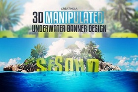 Create 3D Underwater Scene in Cinema 4D e Photoshop