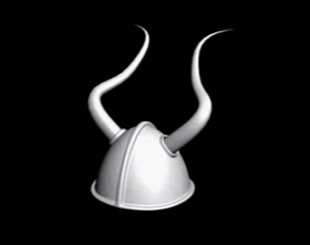 Make a Viking Helmet in Autodesk 3ds Max