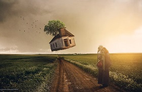 Create Simple Surreal Scene Effect in Photoshop