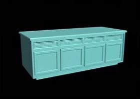 Model Storage Cabinets for Kitchen in 3ds Max