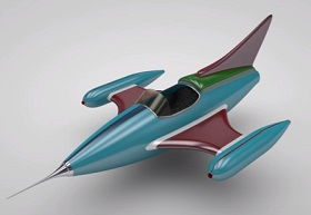 Modeling a Simple ToyJet in Maxon Cinema 4D
