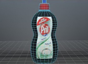 Modeling and Texturing a Prill Bottle in Atodesk Maya