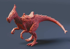 Sculpting a 3D Monster Model in Blender