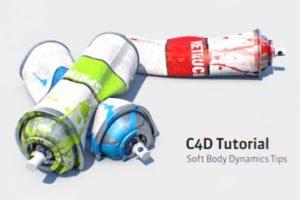 Using Soft Body Dynamics in Maxon Cinema 4D