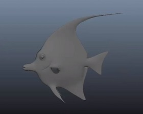 Rig and Animate a Tropical Fish in Autodesk Maya