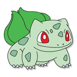 Bulbasaur Free Vector download
