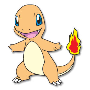 Charmander - Pokemon, Free Vector download