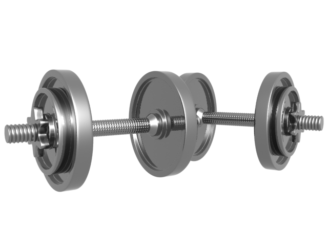 Dumbbell Weight 3D Free download
