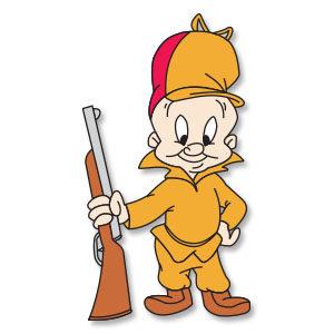 Elmer Fudd - Looney Tunes Hunter Free Vector