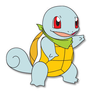 Squirtle - Pokemon, Free Vector download