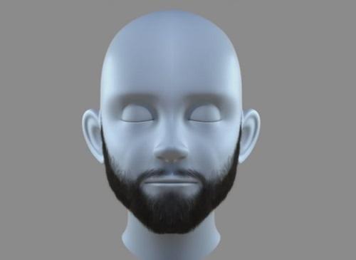 Beard in Maya Xgen