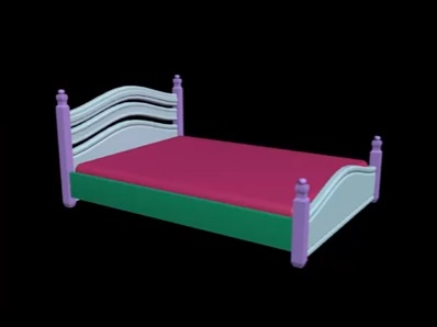 Architectural Bed Modeling in 3ds Max