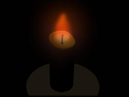 Cartoon Candle 3d in Maya