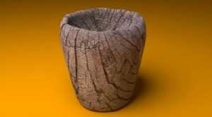 Cup Wood Texture in Blender
