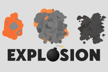 Cartoon Explosion in After Effects