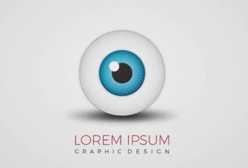 Create 3D Eye Ball Logo Design in Illustrator