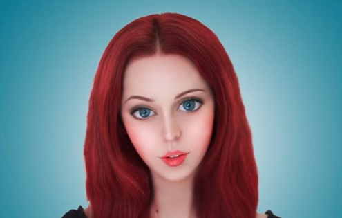 Barbie doll effect in Photoshop