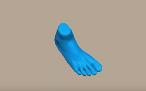 Sculpting a Realistic Feets in ZBrush