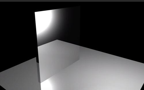 Create a Mirror in Autodesk Maya
