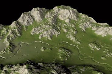 Landscapes with Height Maps Cinema 4D