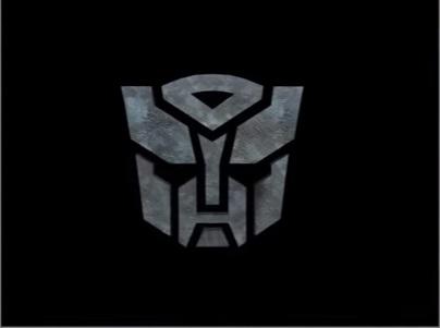 Autobot Logo Grunge in 3ds Max