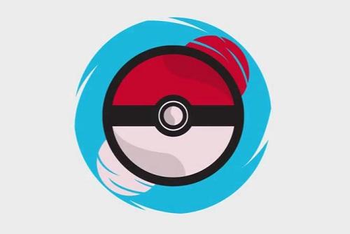 Pokéball Icon in Photoshop and Illustrator