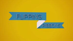 ribbon in cinema 4d