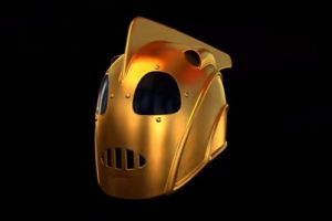 Model Rocketeer Helmet in Maya