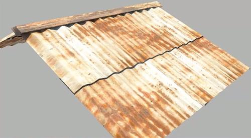 Tin Roof in Autodesk Maya