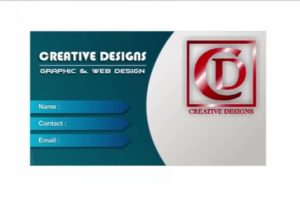 Business Card Design in CorelDRAW