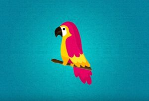 Bird Vector Illustration in Illustrator