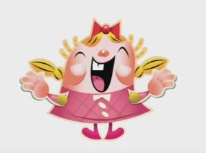 Candy Crush Character in Illustrator