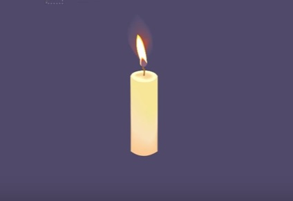 Realistic Candle in CorelDRAW